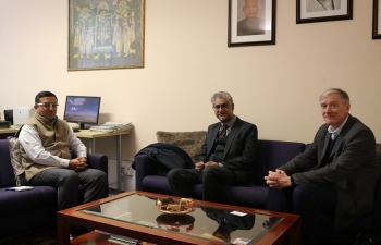 Consul General had fruitful discussion with Scottish Development International